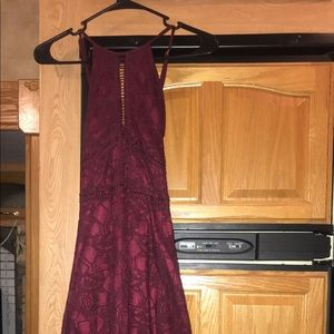 Dresses - Hi Low Lace Dress